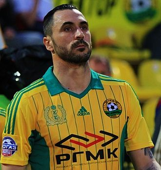 Hugo Almeida - Almeida playing for Kuban Krasnodar in 2015