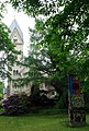 Kaiser-Wilhelm-Gedächtnis-Friedhof, Kapelle und Teil der Berliner Mauer, Fürstenbrunner Weg, Berlin-Charlottenburg.jpg
