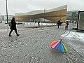 Kansalaistori square at Helsinki Central Library Oodi, 2020 March.jpg