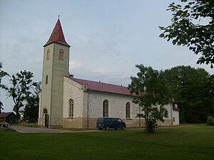 Kärdla - Image: Kardla kirik