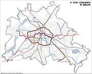 Rete berlinese diS-Bahn e U-Bahn