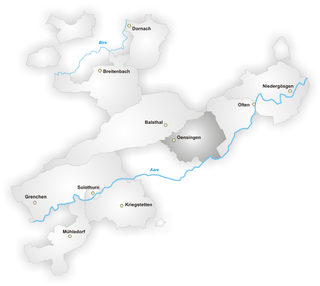 district of the canton of Solothurn, Switzerland