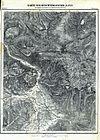 100px karte der berchtesgadener alpen blatt iii