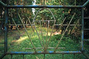 3rd Guards Spetsnaz Brigade - Gate at Neuthymen barracks, Eastern Germany
