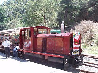 Walhalla Goldfields Railway - Image: Kasey