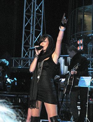 Greece in the Eurovision Song Contest 2010 - Disqualified participant Katerine Avgoustakis appeared as a special guest in the show