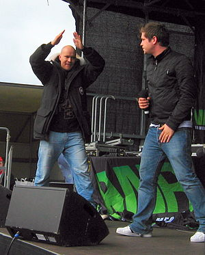 Kato (DJ) - Kato (left) and Jon Nørgaard in April 2010