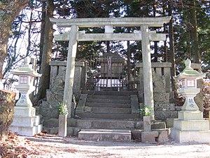 Mount Izumi Katsuragi - Image: Katsuragi jinja (Mount Izumi Katsuragi)1
