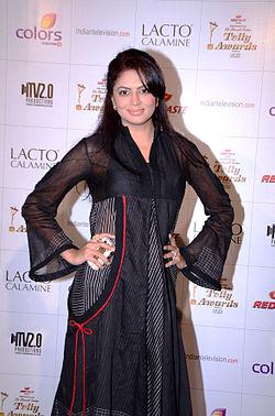 Kavita kaushik colors indian telly awards.jpg