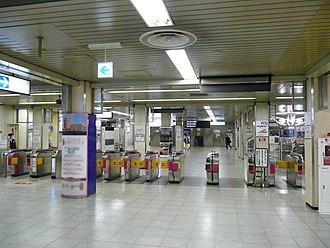 Keisei Ueno Station - Image: Keisei Ueno Gate