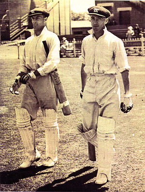 Keith Rigg - Image: Keith Rigg & Opening batting partner VCA