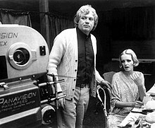 Ken Russell and Twiggy on set of The Boyfriend.jpg