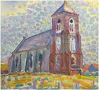 Kerk te Zoutelande, Mondriaan, 1909.jpg