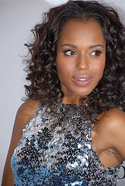 The series focuses on the story of Olivia Pope, portrayed by Kerry Washington. Kerry Washington LF.jpg