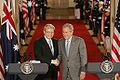 Kevin Rudd and George W. Bush, Washington, 2008.jpg
