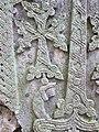 Khachqar, detale, Chorut church, Arzakan 02.JPG