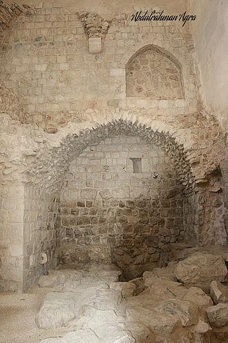 Farrukh Pasha - Remains of the Khan al-Farrukhiya, a caravanserai built by Farrukh Pasha