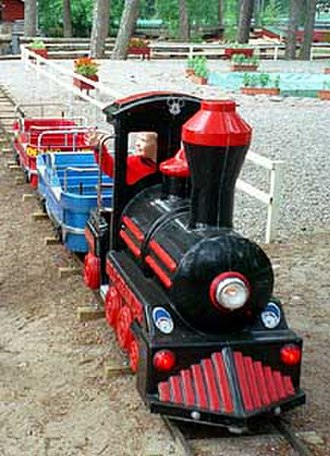 Train ride - A kiddie ride in Hanko, Finland