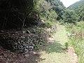 Kiiji, old village site stone fence.jpg
