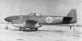 Nakajima Kikka World War II Japanese twin engined jet aircraft