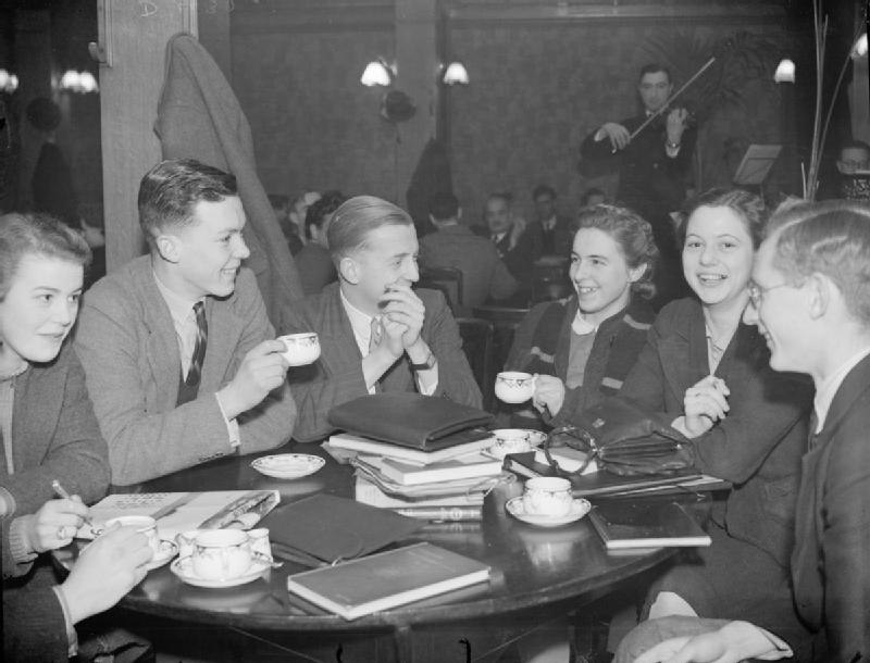 King's College London Students Evacuated To Bristol, England, 1940 D432
