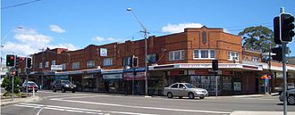 Kingsgrove, New South Wales - Kingsgrove Road (south)