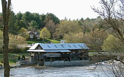 The old mill on the Burnt River
