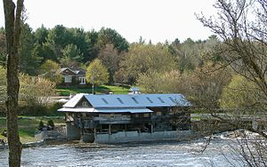 Kinmount - The old mill on the Burnt River