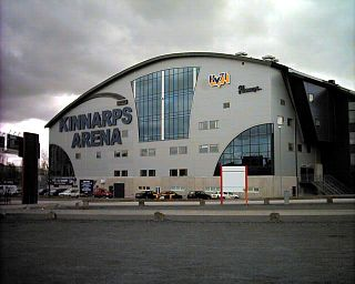Kinnarps Arena indoor ice rink inJönköping, Sweden