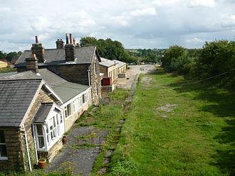 Kirkbymoorside - Kirkbymoorside's former railway station
