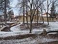 Kirchturm und Herrenhaus Klebelsberg, 2019 Pesthidegkút-Ófalu.jpg