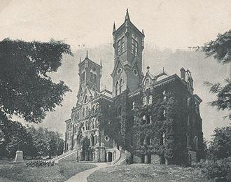 William Crawford Smith - Kirkland Hall on the Vanderbilt University campus, designed by Smith.