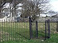 Kissing gate at Gileston. - geograph.org.uk - 1189555.jpg
