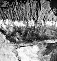Knik Glacier, valley glacier terminus, iceburgs in the water, September 27, 1995 (GLACIERS 5033).jpg