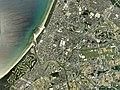 Koga city center area Aerial photograph.2007.jpg