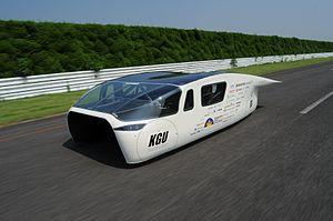 Stella (solar vehicles) - In 2015 Japan's Kogakuin University team took 2nd place in the Cruiser class with a vehicle using a similar layout and overall shape as the Stella Lux.