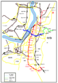 Kolkata Metro Map In Bengali.png