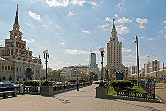 Komsomolskaya Square (Moscow) - Image: Komsomolskaya Square 1