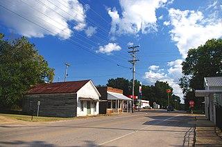 Kossuth, Mississippi Village in Mississippi, United States