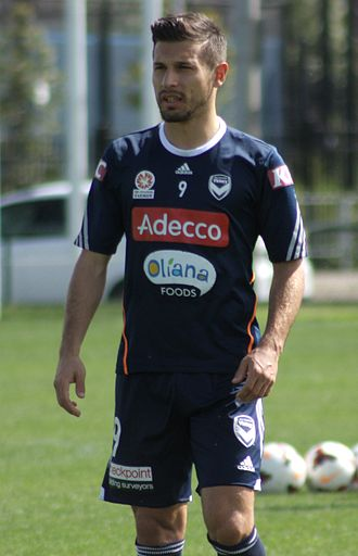 Kosta Barbarouses - Barbarouses training with Melbourne Victory in 2019