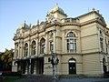 Krakow (Cracow) - Teatr im. Juliusza Słowackiego (Plac Świętego Ducha 1) - panoramio.jpg