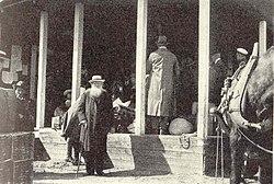 Kropotkin a su paso por Haparanda en 1917