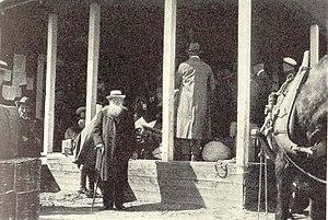 Peter Kropotkin - Kropotkin in Haparanda, 1917