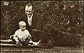 Kronprins Olav, Prinsesse Ragnhild og Ajax, 1931 (6958950973).jpg