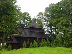 Krościenko, Bieszczady County - Greek Catholic church of the Nativity of the Virgin Mary