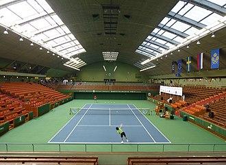 Kungliga tennishallen - Indoor view