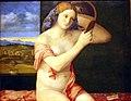 Kunsthistorisches Museum Wien, Giovanni Bellini, Junge Frau bei der Toilette.JPG