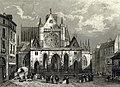 L'église de Saint-Germain l'Auxerrois à Paris en 1846.jpg