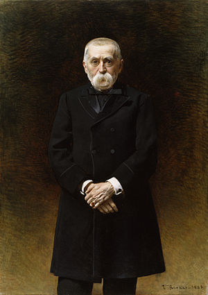 William Thompson Walters - William T. Walters in 1883 by french artist Léon Bonnat.
