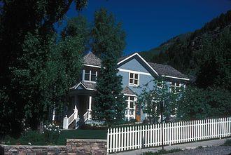 L. L. Nunn - Nunn's house in Telluride